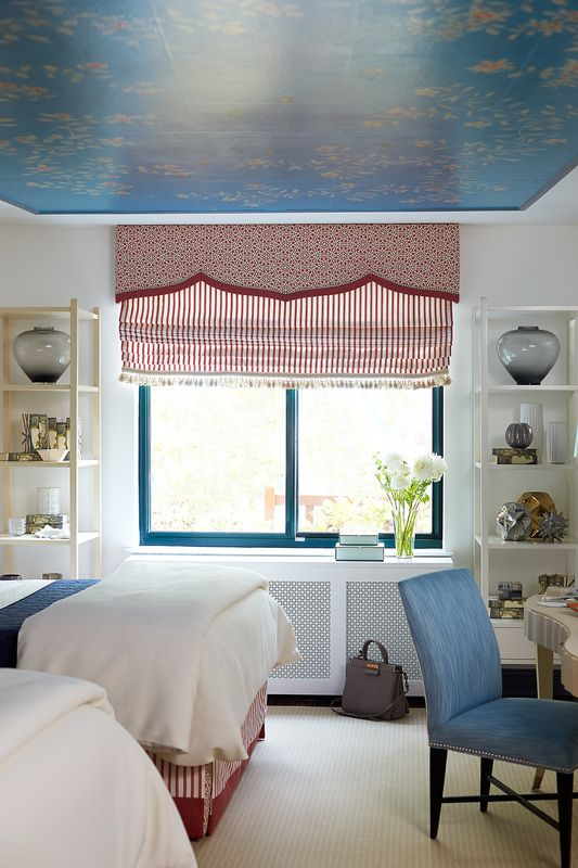 Gracie ceiling by Jennifer Mehditash for Ronald McDonald Showhouse