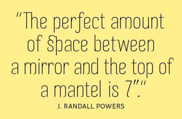 J Randall Powers Mirror Quote
