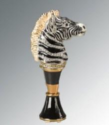 Jat Strongwater Zebra Wine Stopper
