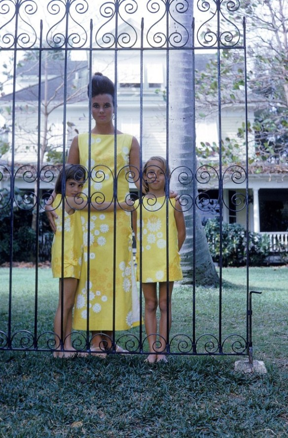Lilly Pulitzer and daughters
