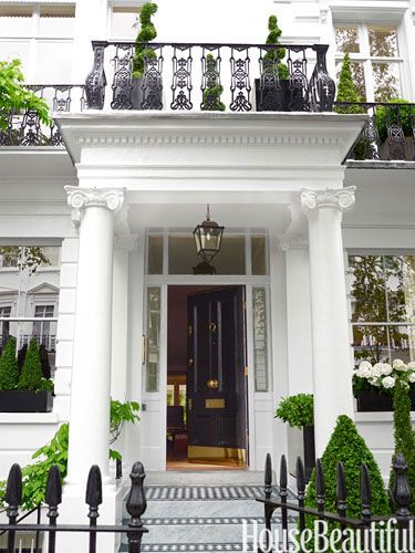 London Townhouse on House Beautiful