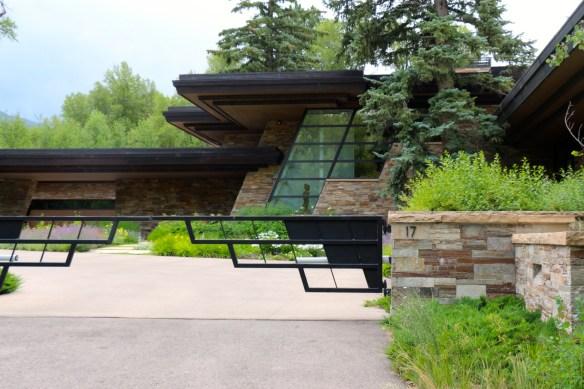 Modern Lines on Aspen Home