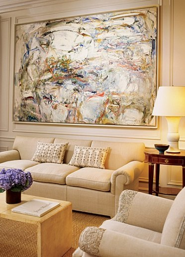 Peter Marino Marcus living room