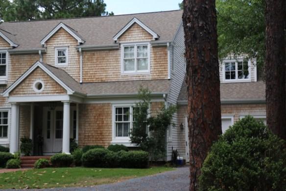 nantucket style house in Pinehurst