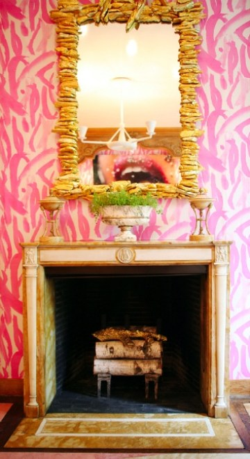 Amanda Nisbet in Lonny Mag 39th Kips Bay Decorator Show House