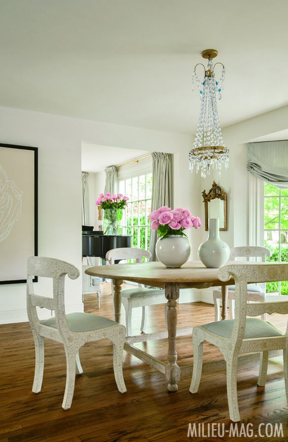 Dining Area by Shannon Bowers in Milieu Mag