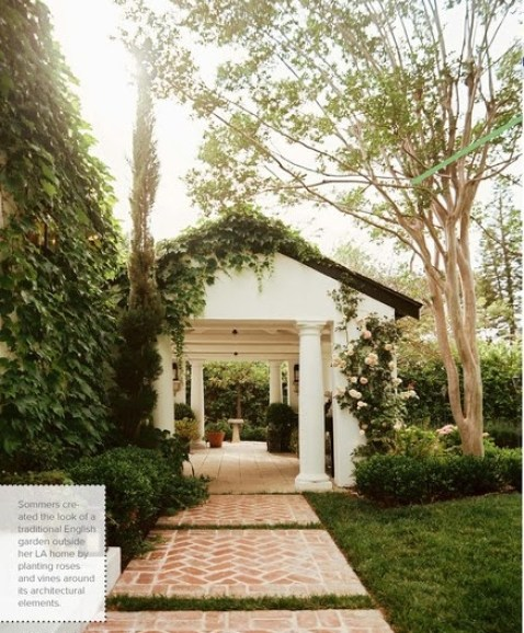 Garden of Ruthie Sommers via Lonny