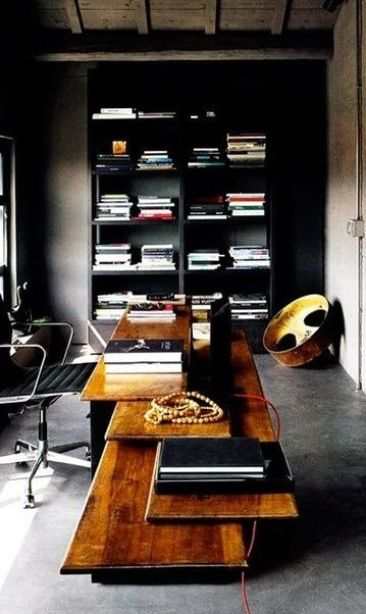 Modern Home Office via Pinterest