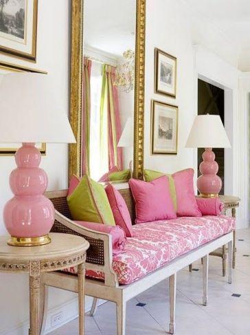 Shades of Pink via La Belle Vie