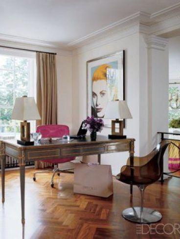 Tamara Mellon London Apartment designed by Martyn Lawrence-Bullard via Elle Decor
