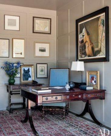 The Texas Ranch Desk of President Bush via AD