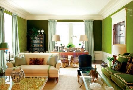 Tory Burch NYC Home living room