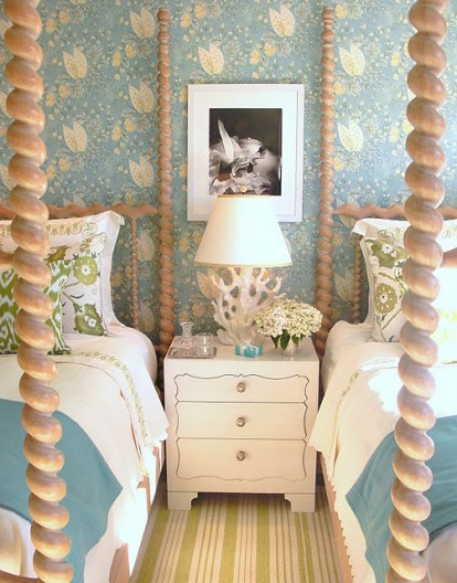 Twin Bedroom in Elle Decor Showhouse