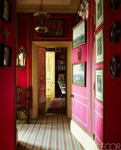 Alidad's London Apartment Hallway
