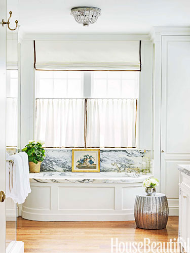 Bathroom by Markham Roberts in Nashville home