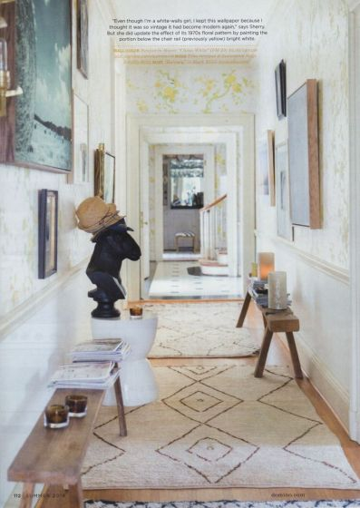 Domino Magazine Hallway