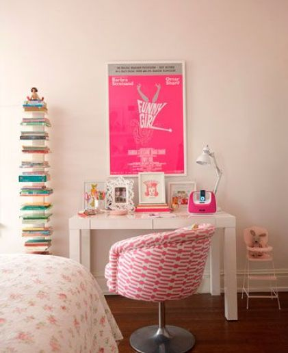 Girl's room by Suellen Gregory via Haus and Home