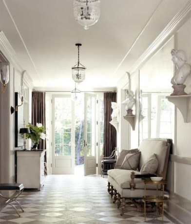 Hallway by Windsor Smith in LA via Veranda