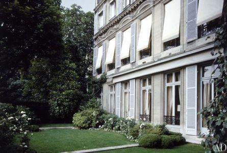 Helene Rochas home in Paris via AD