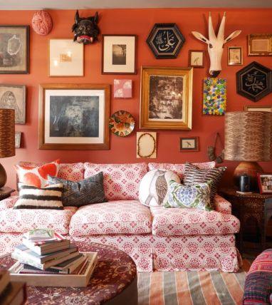 JOhn Robshaw home via NY Social Diary