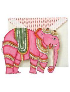 John Robshaw elephant cards