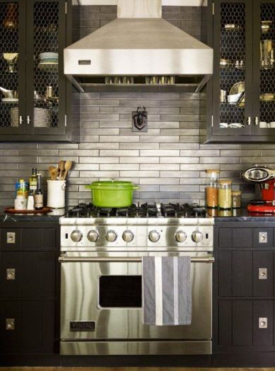 Stainless Subway by Thom Filicia via AD