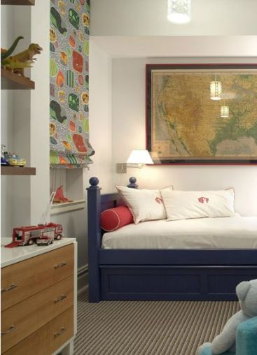 A Child's Room by Katie Ridder via Chic Little House