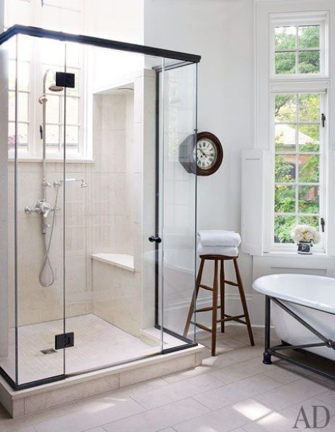 A Washington DC Bathroom by Darryl Carter via AD