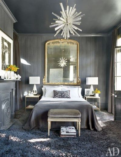 Bedroom in NOLA home by Lee Ledbetter via AD