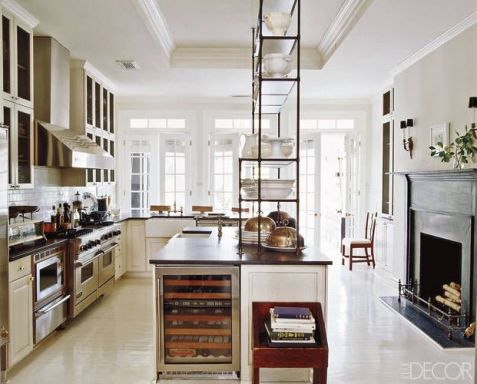 Darryl Carters DC Kitchen via Elle Decor