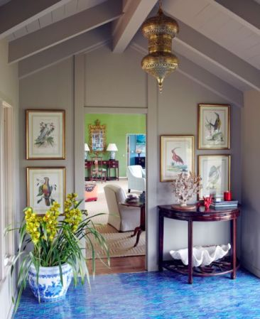 Katie Ridder with color and style via Mark D Sikes Blog