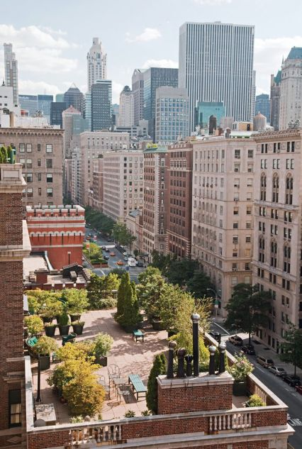 NY Rooftop garden via NyCurbed