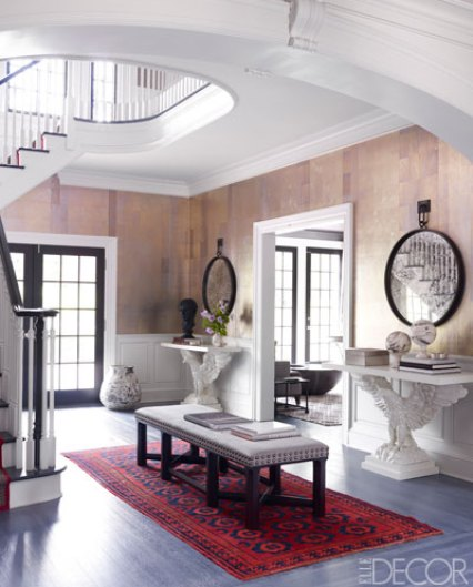 Entry of Connectucut home by Thom Filicia
