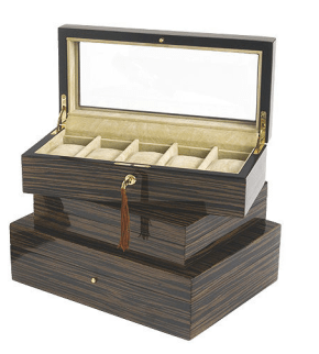Tizo Lacquered box from Gracious Home NYC