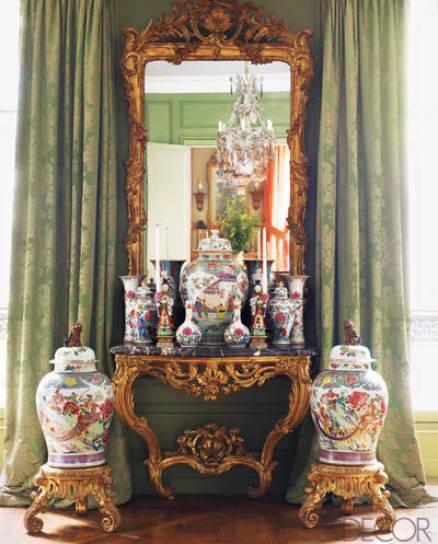 Andrew Gn Paris Apartment via Elle Decor