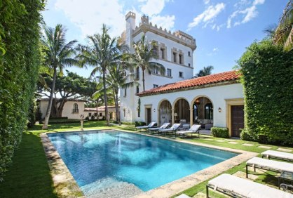 Mizner Palm Beach home IN AD