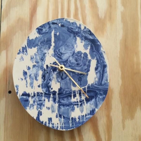 Clock via Lonny