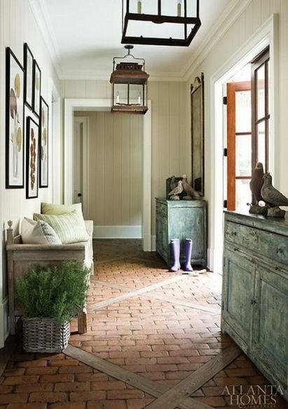 Mud room via Atlanta Homes and Lifestyles