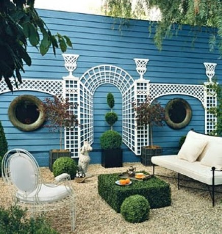 A perfect garden via Matters of Style
