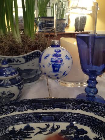 Chinoiserie Ornaments by Dana Mahnke on Etsy Indigo Home