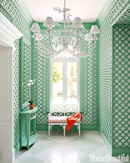 Gorgeous lattice work in this bahamas house via House Beautiful