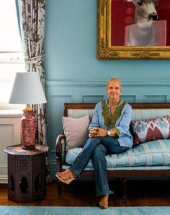 Sheila Bridges in ger Harlem Brownstone