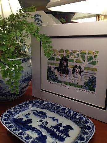 Watercolor by Dana Mahnke on Etsy Indigo Home