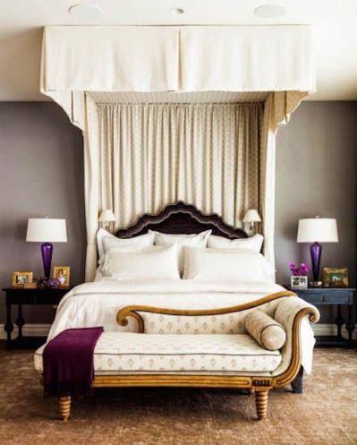 Bedroom by Sara Gilbane via Zhush