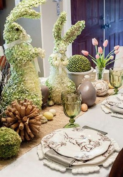 Easter Tablescape via Dear Lillie