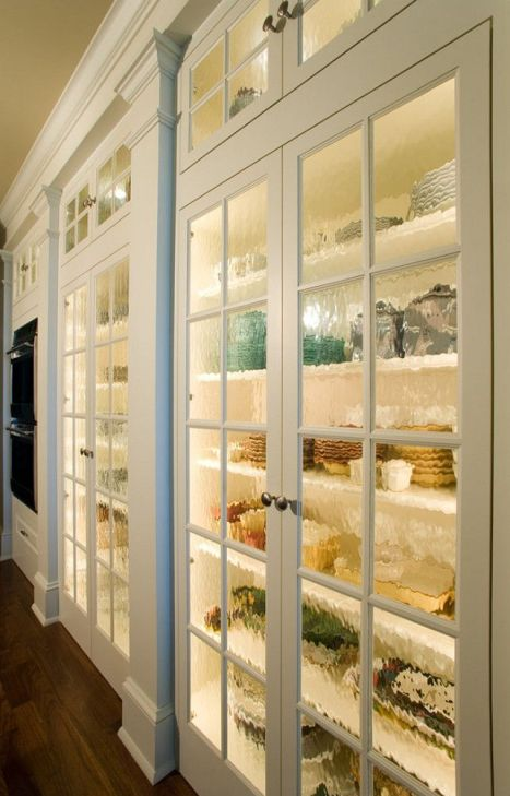 Organized cabinets via home bunch