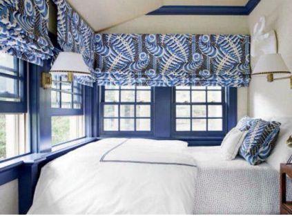 Sara Gibane Tudor bedroom via House Beautiful