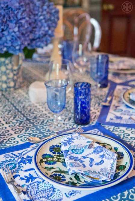 Tory Burch Easter Tablescape