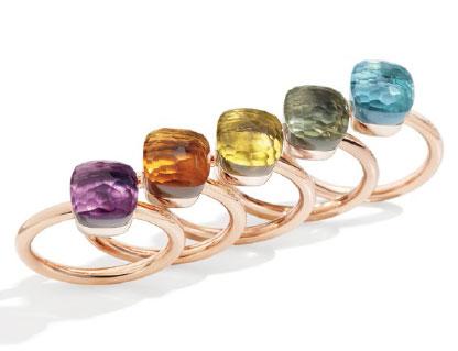Pomellato Nudo-Petite-rings