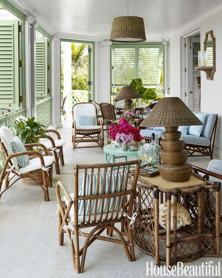 Amanda Lindroths Bahamas Home via House Beautiful